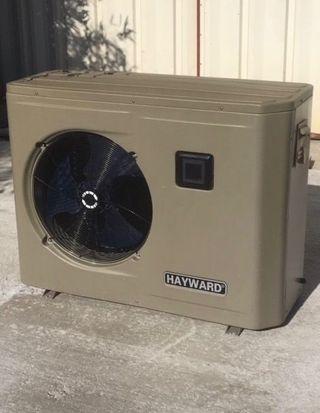Bomba de calor hayward montadores pro