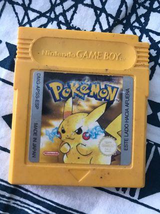 Nintendo Game Boy juego Pokemon