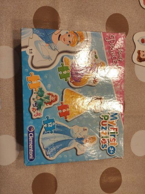 puzzles princesas Disney +2 años