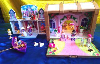Cofres Palacio Real y Castillo Princesas Playmobil