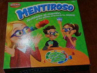 """JUEGO """"MENTIROSO"""""""