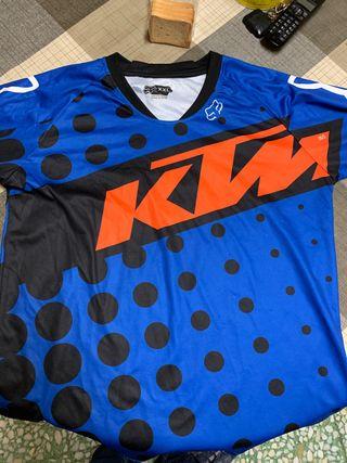 Camiseta fox 350 azul Ktm