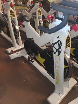lote maquinas de gimnasio bicicletas de spinning