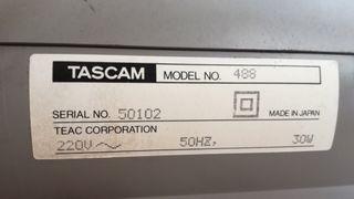 Portaestudio Tascam 488