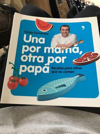 Libro cocina para niños que no comen