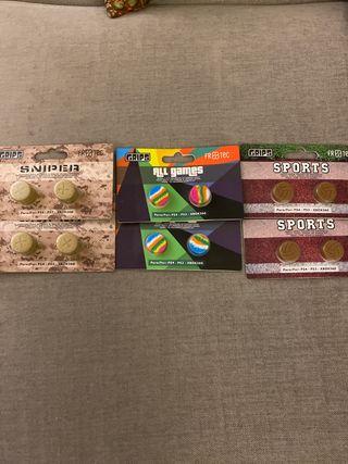 Grips para mando PS4, PS3, XBOX ONE, XBOX 360