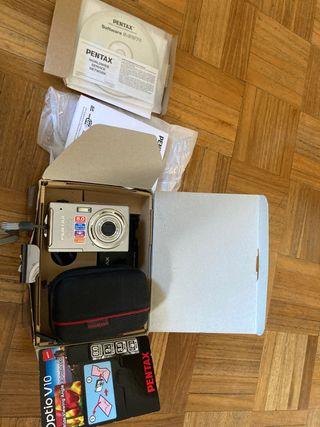 cámara de fotos, pentax optio v10, de 8 megapixele