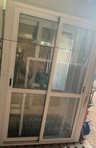 Balconeras aluminio climalit