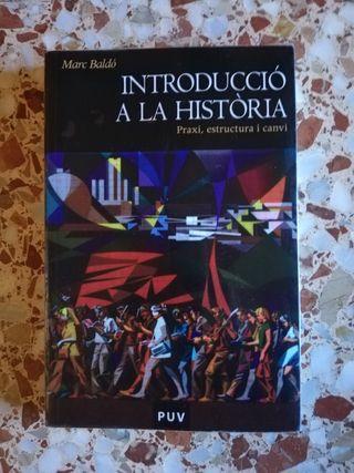 Introducció a la historia. Marc Baldó