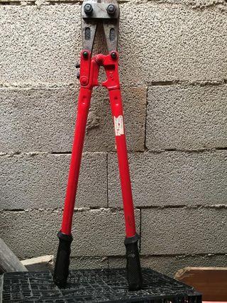 Cizalla de tijera para cortar varillas de hierro