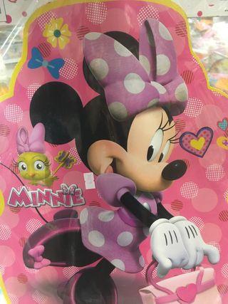 Piñata minnie rosa mediana