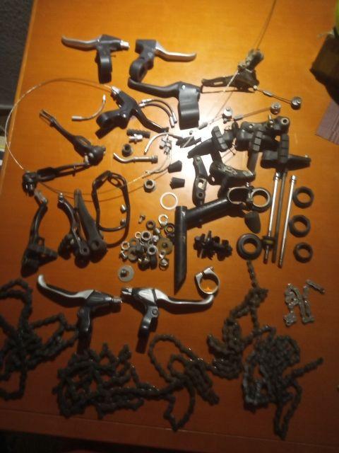 lote piezas de bici