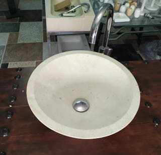 se vende lavabo piedra natural