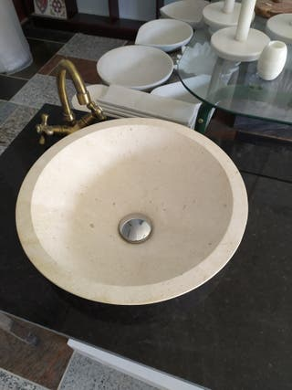 se vende lavabo piedra natural