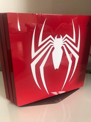 PlayStation 4 Pro 1TB Edición Spiderman