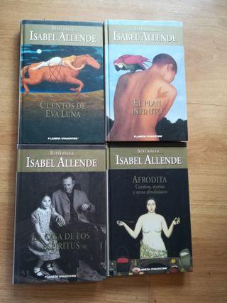 4 libros Isabel Allende