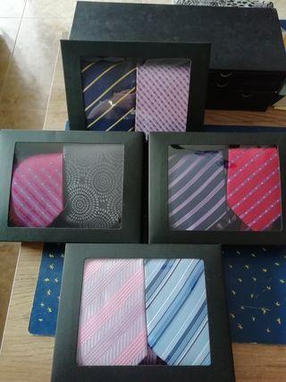 Corbatas pack x 2