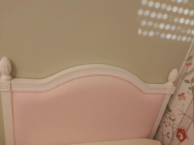 cabecero infantil rosa