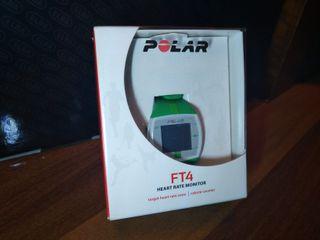 POLAR FT4 - Monitor de ritmo cardíaco