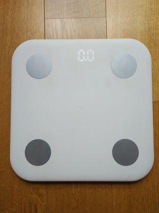 báscula medición corporal xiaomi