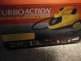 Vaporeta Turbo Action 1500W con accesorios