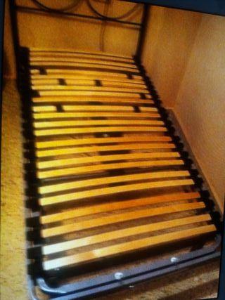 Cama articulable de 90 con colchón antiescaras