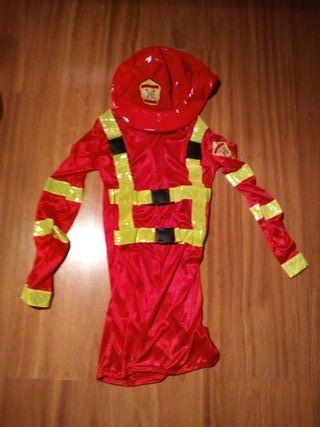 disfraz bombera sexy
