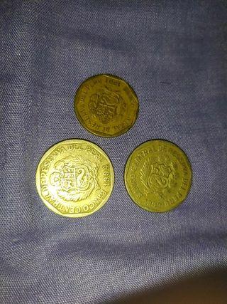 Coleccion de monedas peruanas de los años 90
