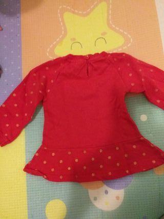 Sudadera navideña bebé niña 6 meses