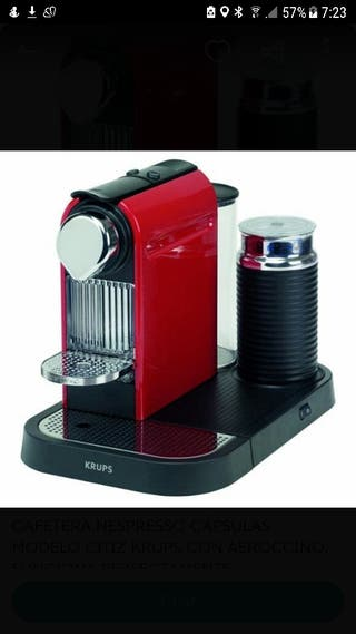 Nespresso Citiz & Milk. Modelo retro color rojo