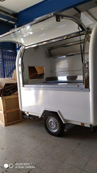 Caravana Food Truck De Comida Rapida De Segunda Mano Por 4 700 En Granada En Wallapop