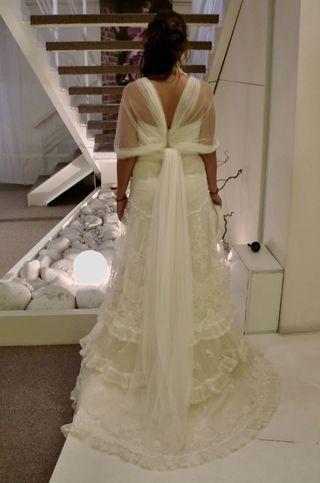 Vestido de novia YOLANCRIS TALLA 38