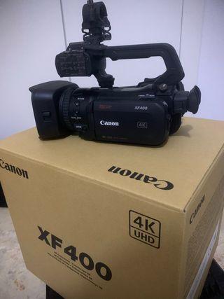 Videocámara canon xf400