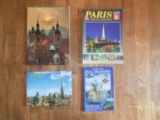 lote de guias de viajes de ciudades