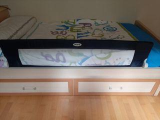 Barrera de protección para cama nido