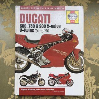 Ducati Desmo 1991-1996: Manual de taller