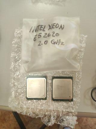2 Procesadores nuevos Intel Xeon 2.0 GHZ E52620