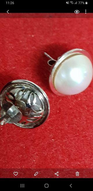 pendiente Dormilona perlas