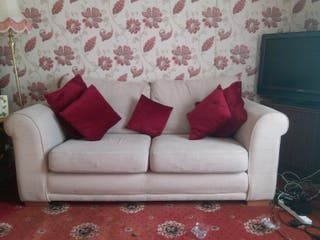 Cream colour sofa