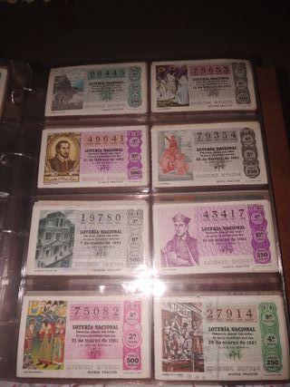 Décimos de loteria Nacional