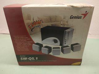 set de 5 altavoces Marca Genius SWQ-5.1. Nuevo.