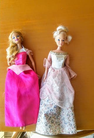 Princesas barbie 2x1