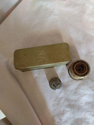 cajas metálicas antiguas lote