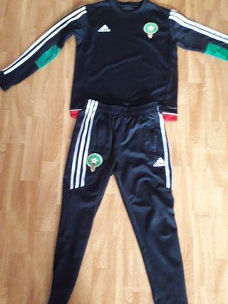 chandal marroquí Adidas