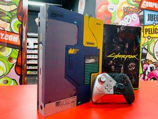 XBOX ONE X ED ESPECIAL CYBERPUNK 2077 !!