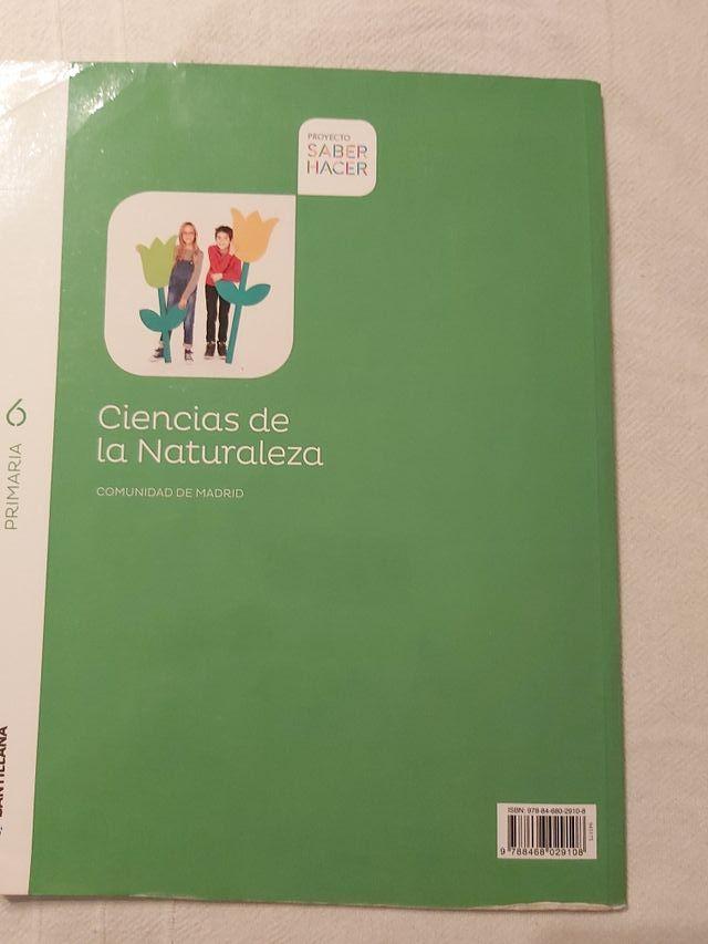 Ciencias de la naturaleza 6 primaria