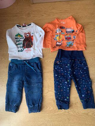 Lote ropa bebé 9 meses