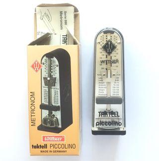 Metronomo Taktell Piccolino wittner Nr. 890 161
