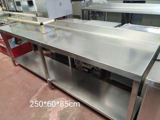 mesa de trabajo 2.5 m