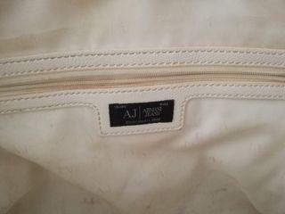 Bolso piel Armani Jeans